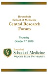 Boonshoft School of Medicine Central Research Forum Program - 2019