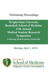 Proceedings - Wright State University Boonshoft School of Medicine Eleventh Annual Medical Student Research Symposium