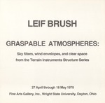 Leif Brush: Graspable Atmospheres: Sky filters, wind envelopes, and clear space from the Terrain Instruments Structure Series