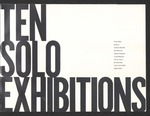 Ten Solo Exhibitions