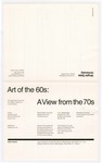 Art of the 60s: A View from the 70s