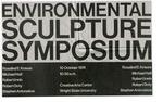 Environmental Sculpture Symposium