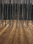 Past Present: The Indigo Work of Rowland Ricketts 001 by Rowland Ricketts