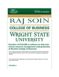 Raj Soin College of Business Newsletter - October 2019 by Raj Soin College of Business