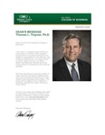 Raj Soin College of Business Newsletter - March 2020 by Raj Soin College of Business, Wright State University