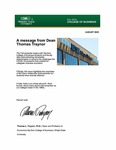 Raj Soin College of Business Newsletter - August 2020 by Raj Soin College of Business, Wright State University