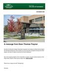 Raj Soin College of Business Newsletter - November 2020