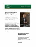 Raj Soin College of Business Newsletter - April 2021 by Raj Soin College of Business, Wright State University