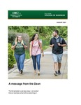 Raj Soin College of Business Newsletter - August 2021 by Raj Soin College of Business, Wright State University
