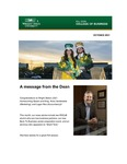 Raj Soin College of Business Newsletter - October 2021 by Raj Soin College of Business, Wright State University