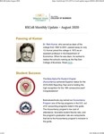 Raj Soin College of Business Monthly Update - August 2020