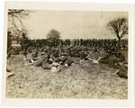 322nd Field Artillery in Field