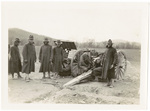 322nd Field Artillery with Cannon and Caisson