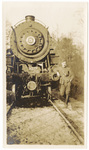 Soldier with Train Engine