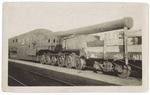 Artillery Cannon on Train
