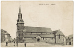 Postcard of L'englise de Guipry in St. Sulpice des Lande