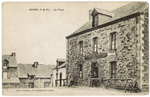 Postcard of a building in St. Sulpice des Lande