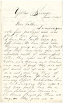 Letter, 1858 June 18, Oscar D. Ladley to Father [Derostus Ladley]