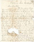 Letter, 1861 March 14, Oscar D. Ladley to Mother [Catherine Ladley]