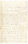 Letter, 1861 May 13, Oscar D. Ladley to Mother and Sisters [Catherine, Mary, and Alice Ladley]