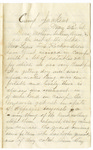 Letter, 1861 May 22, Oscar D. Ladley to Mother, Sisters, and Ann [Catherine, Mary, and Alice Ladley and Ann Griswold]
