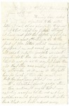 Letter, 1861 June 23, James O. Salsbury to [Unknown]