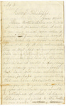 Letter, 1861 June 26, Oscar D. Ladley to Mother, Sisters, and Friends [Catherine, Mary, and Alice Ladley, et al.]
