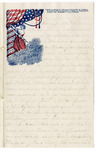 Letter, 1861 November 28, Oscar D. Ladley to Mother and Sisters [Catherine, Mary, and Alice Ladley]
