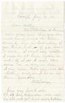 Letter, 186[2] [January] 14, Oscar D. Ladley to Mother [Catherine Ladley]