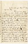 Letter, 1862 May 13, C. Ladley to My Dear Boy [Oscar D. Ladley]