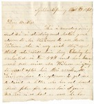 Letter, 1862 November 9, Allie [Alice Ladley] to Brother [Oscar D. Ladley]