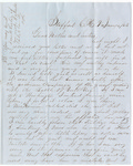 Letter, 1863 January 4, Oscar D. Ladley to Mother and Sisters [Catherine, Mary, and Alice Ladley]