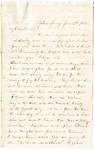 Letter, 1863 January 4, Mary [Mary Ladley] to My Dear Brother [Oscar D. Ladley]