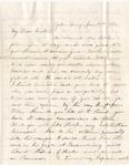 Letter, 1863 January 28, Mary [Mary Ladley] to My Dear Brother [Oscar D. Ladley]