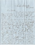 Letter, 1863 February 9, Oscar D. Ladley to Mother [Catherine Ladley] by Oscar D. Ladley