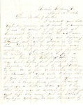 Letter, 1863 April 12, Oscar D. Ladley to Mother and Sisters [Catherine, Mary, and Alice Ladley] by Oscar D. Ladley