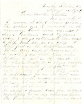 Letter, 1863 April 14, Oscar D. Ladley to Mother and Sisters [Catherine, Mary, and Alice Ladley] by Oscar D. Ladley