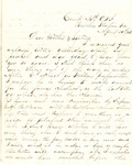 Letter, 1863 April 19, Oscar D. Ladley to Mother and Sisters [Catherine, Mary, and Alice Ladley] by Oscar D. Ladley