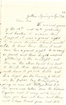 Letter, 1863 April 22, C. Ladley [Catherine Ladley] to Son [Oscar D. Ladley] by Catherine Ladley