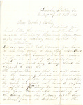 Letter, 1863 April 26, Oscar D. Ladley to Mother and Sisters [Catherine, Mary, and Alice Ladley] by Oscar D. Ladley