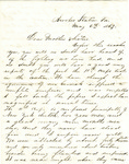 Letter, 1863 May 8, Oscar D. Ladley to Mother and Sisters [Catherine, Mary, and Alice Ladley] by Oscar D. Ladley