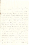 Letter, 1863 May 14th, Mary [Mary Ladley] to Brother [Oscar d. Ladley by Mary Ladley