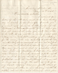 Letter, 1863 May 16, Oscar D. Ladley to Mother and Sisters [Catherine, Mary, and Alice Ladley]