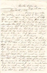 Letter, 1863 May 19, Oscar D. Ladley to Mother and Sisters [Catherine, Mary, and Alice Ladley]