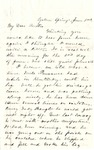 Letter, 1863 June 2, Mary [Mary Ladley] to My Dear Brother [Oscar D. Ladley] by Mary Ladley