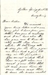 Letter, 1863 June 7, Allie L. [Alice Ladley] to Brother [Oscar D. Ladley] by Alice Ladley