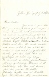 Combined Letters, 1863 July 12 and July 18, Ally Ladley [Alice Ladley] to Brother [Oscar D. Ladley] by Alice Ladley