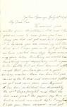 Letter, 1863 July 13, C. Ladley to My Dear Son [Oscar D. Ladley] by Catherine Ladley