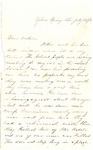 Letter, 1863 July 19, Allie [Alice Ladley] to Brother [Oscar D. Ladley] by Alice Ladley