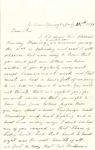 Letter, 1863 July 27, C. Ladley [Catherine Ladley] to Son [Oscar D. Ladley] by Catherine Ladley
